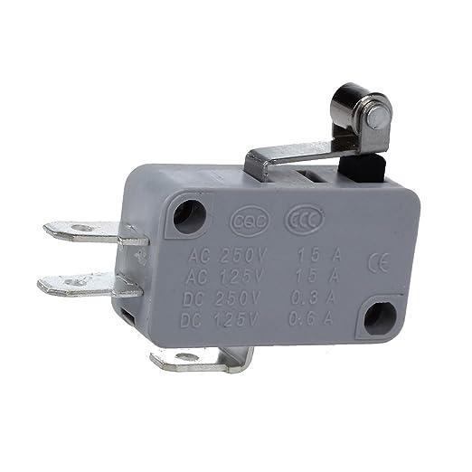 4 opinioni per SODIAL (R) 2 pz Roller leva corta in metallo in miniatura Micro Interruttore