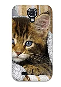 High-quality Durability Case For Galaxy S4(kitten Covered By Blanket)