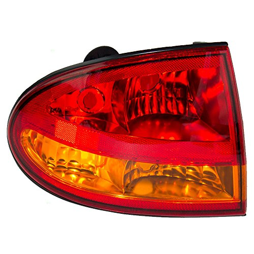 Drivers Taillight Quarter Panel Mounted Tail Lamp Replacement for Oldsmobile 22640819 (Lens Gasket Lamp Tail)