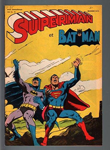 SUPERMAN ET BATMAN #18-1969-DC ITALIAN COMIC-RARE EDITION-neal adams-VF VF