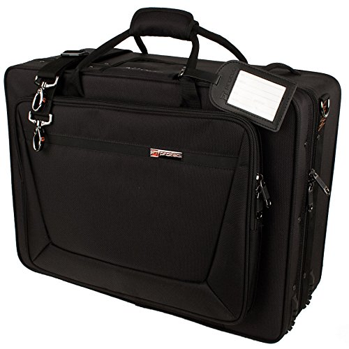 Protec Trumpet / Flugel Combination PRO PAC Case, Model PB301F (Trumpet Flugelhorn Case)