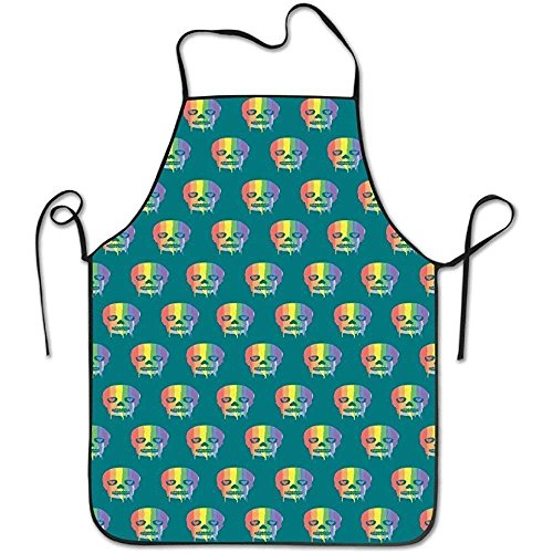 Plbfgfcover Aprons San Francisco Lock Edge Apron for Kitchen BBQ Barbecue Cooking Gardening Waterproof Durable and Great Gift Suit for Men Women Creative Design Bib -