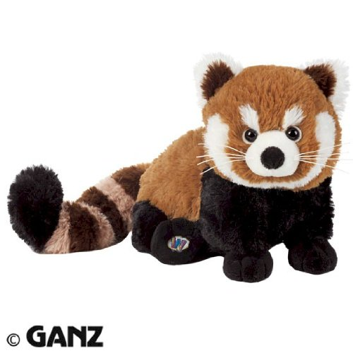Webkinz Red Panda with Trading Cards