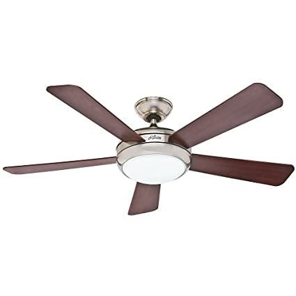 Hunter 59052 contemporary palermo ceiling fan with five cherrymaple hunter 59052 contemporary palermo ceiling fan with five cherrymaple blades 52quot aloadofball Gallery