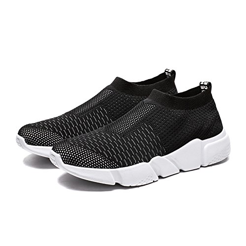 Men's Black YALOX Shoes w 1 Breathable Walking Sneakers On Running Athletic Lightweight Casual Women's Shoes Slip Fashion w11nq4Rd