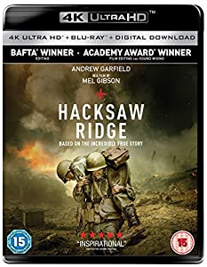 Hacksaw Ridge 4K UHD [Blu-ray] [2017]: Amazon.co.uk: DVD ...