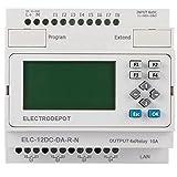 Ethernet TCP/IP Web LAN Port PLC Network Controller 8 DC Inputs, 4 Relay Output, 12V 24V