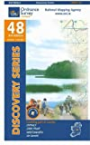 Discovery Series 48: Offaly, Westmeath by Ordnance Survey Ireland front cover