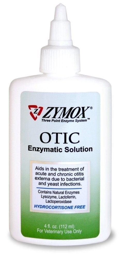 Zymox Otic Without Hydrocortisone 4 oz
