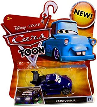 Disney Modelo Cartoon Mattel-Cars Coche Toon 1/55 Kabuto ...