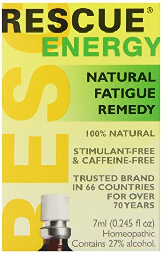 Nelsons Rescue Energy Supplement, 7 ml, 0.245 Fluid Ounce ()