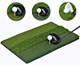 That'll Play - SBZ Golf PremiumTri-Turf Hitting Grass Mat - Rough & Fairway, Portable, Training Mat - 16'' x 25''