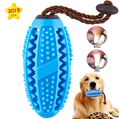Dog Chew Toys, Upgrade Durable Dog Toy for Aggressive Chewers Toothbrush, Small Medium Dog Rope Toys Puppy Teeth…