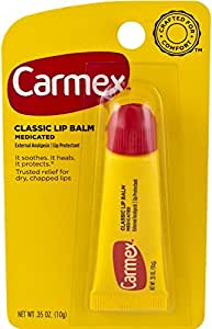 Carmex Classisc Lip Balm Medicated 0.35 oz (Pack of 3)