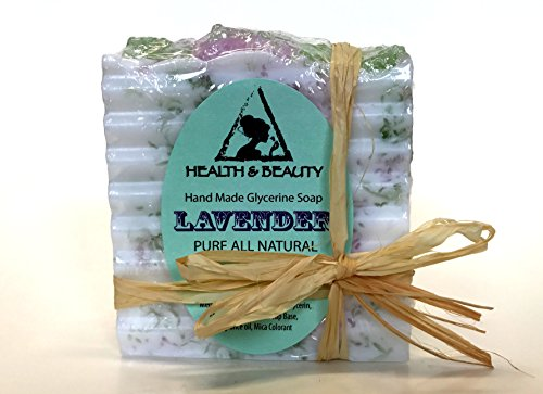 Lavender Soap Bar Hand Made Natural Relaxing Calming Moisturizing Body and Skin 100% Pure