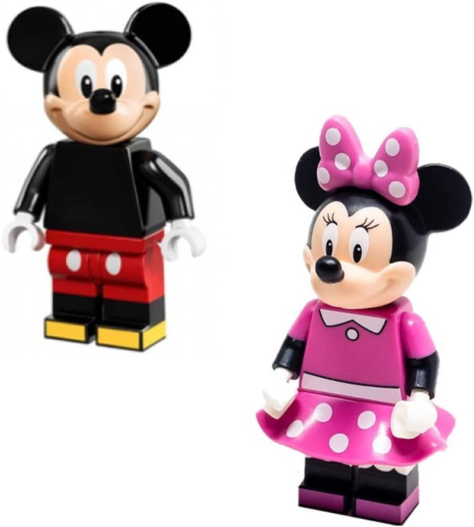 Lego Disney Minifigures (71012) - Mickey Mouse & Minnie Mouse 2 Pack