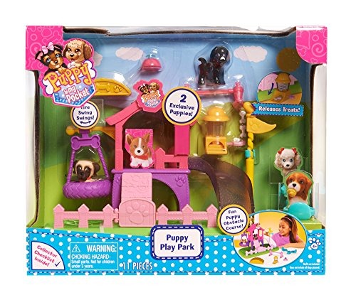 Dog Playset - Puppy In My Pocket Just Play Dog Park Playset