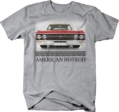 American Hotrod Oldsmobile Olds F-85 Original Cutlass Tshirt - Large Heather Grey