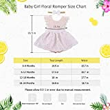 PROBABY Toddler Baby Girl Clothes Floral Dress Lace