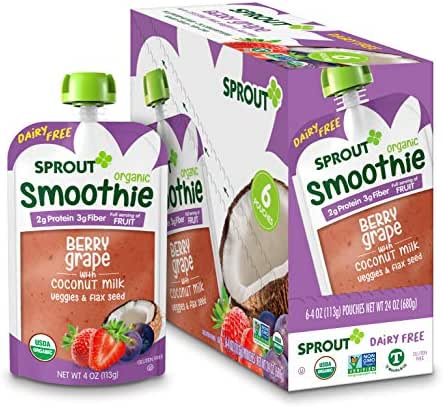 Baby Food: Sprout Smoothie