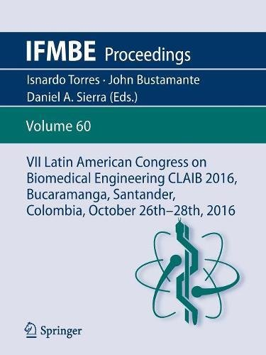 Vii Latin American Congress On Biomedical Engineering Claib 2016  Bucaramanga  Santander  Colombia  October 26Th  28Th  2016  Ifmbe Proceedings   Portuguese  Spanish And English Edition