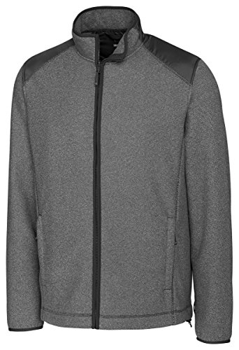 Spark Systems Cedar Park Full-Zip Performance Fleece Jacket, Charcoal Heather, Medium (Performance Fleece Full Zip Vest)