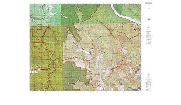 WA GMU 245 Chiwawa Hunt Area / Game Management Units (GMU) Map ...