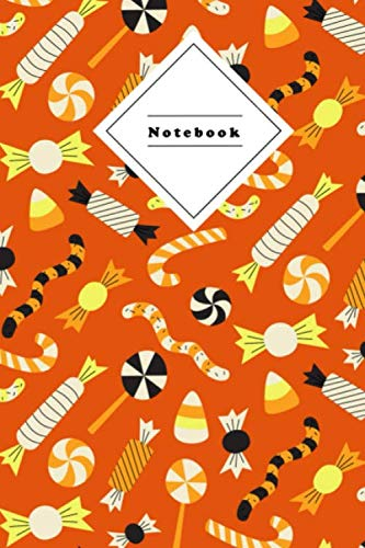 Notebook: Composition Notepad | 120 sheets 6x9 Wide ruled lined | Halloween Coverdesign
