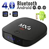 2018 Leelbox MXQ Mini Android 7.1 TV Box with 2GB+8GB BT 4.0 Support 4K (60Hz)/H.265/WiFi