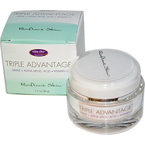 Triple Advantage DMAE Alpha Lipoic Acid & Vitamin C Life Flo Health Products 1.7 oz Cream