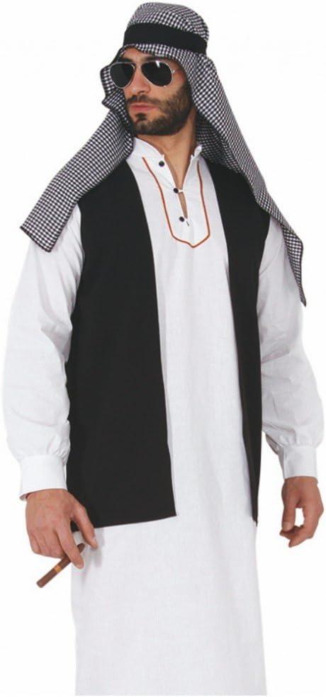 Pueblo Árabe Disfraz Jeque Farid M de XL túnica ölscheich Desierto ...
