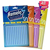 Remelos Drain Cleaner Sticks,Non-Toxic, Enzyme Formula to Eliminate Odors and Prevents Clogged Drains Clean Batonnet Deodorizer Package, 48 Pack. As Seen on TV Keeps Drains Pipes Clear(48pack)