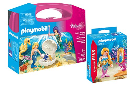 - PLAYMOBIL® Magical Mermaids Carry Case with Additional Mermaid