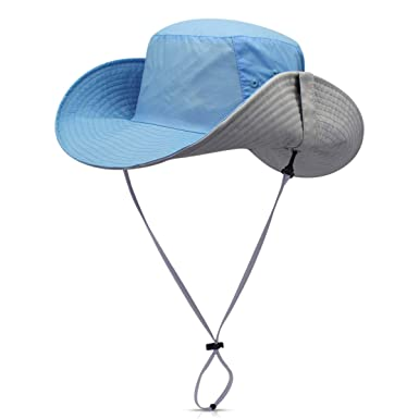 7fc39067457 DORRISO Foldable Wide Brimmed Sun Hat Men Womens Adjustable Bucket Hat  Jungle Camping Vacation Traveling Bush