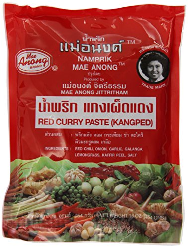 Mae Anong Red Curry Paste, 16-Ounce