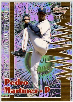 Pedro Martinez Boston Red Sox 2000 Revolution #26 Baseball ()