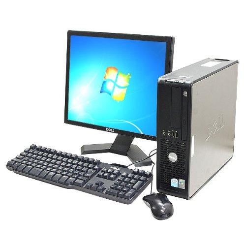 【良好品】 中古 DVDマルチ 2GB Win7搭載 B00A8EAZCQ デスクトップパソコン DELL Optiplex745SFF Core2Duo 2GB 160GB DVDマルチ 17インチ液晶セット MicrosoftOffice2010 B00A8EAZCQ, ホビーランドぽち:a341b81c --- arbimovel.dominiotemporario.com