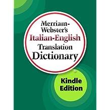 Merriam-Webster's Italian-English Translation Dictionary