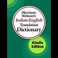 Merriam-Webster's Italian-English Translation Dictionary (Italian Edition) book cover