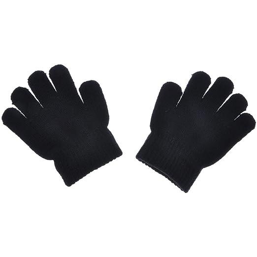 b698b5583 Amazon.com  WEKA Baby Winter Warm Full Finger Mittens Kids Soft ...