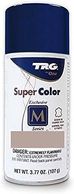 TRG Color Spray Pintura plástica de vinilo de cuero 3.7 oz. | Fácil aplicación de bricolaje | Cuidado de zapatos renovar spray de tinte de color ...