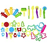Joyibay Kids Dough Tool Party Dough Mold Colorful DIY Craft Clay Dough Tool Toy for Children