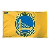 NBA Golden State Warriors Deluxe Flag, 3 x 5', Multicolor