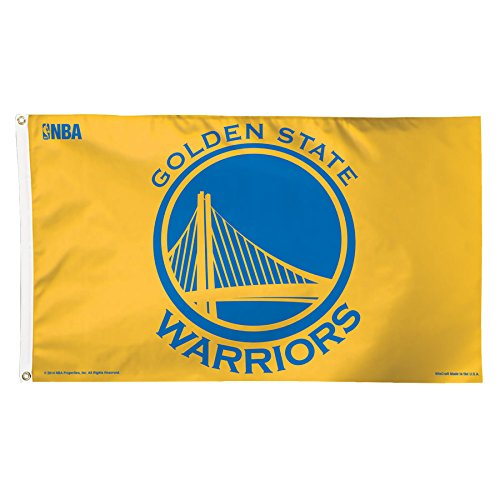 NBA Golden State Warriors Deluxe Flag, 3 x 5', Multicolor by WinCraft