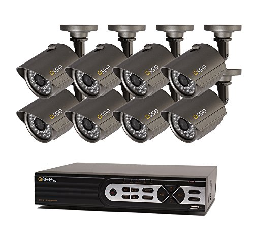 - Q-See Surveillance System QTH916-8AG-2 16-Channel HD Analog DVR with 2TB Hard Drive, 8-720p Security Cameras (Black)