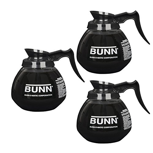BUNN 5850 Commercial Glass Decanter with Handle ()