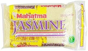 Amazon.com : Mahatma Jasmine Rice Enriched Thai Fragrant