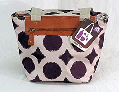 Igloo Everyday Cooler Tote (14 can) Purple/Beige
