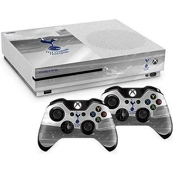 Oficiales del Tottenham Hotspur FC Xbox One S carcasa para mando de consola piel y 2