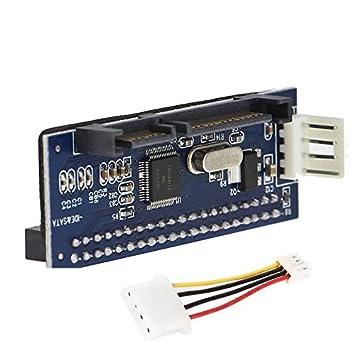Amazon 40Pin Female IDE PATA To 7 15p 22pin SATA Male JM20330 Adapter 35SATA Card Computers Accessories